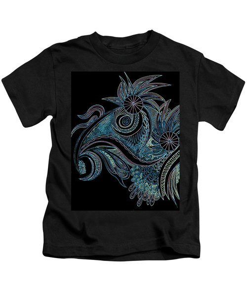 Black Chicken Kids T-Shirt