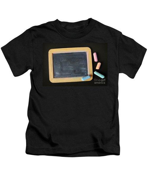 Blackboard Chalk Kids T-Shirt