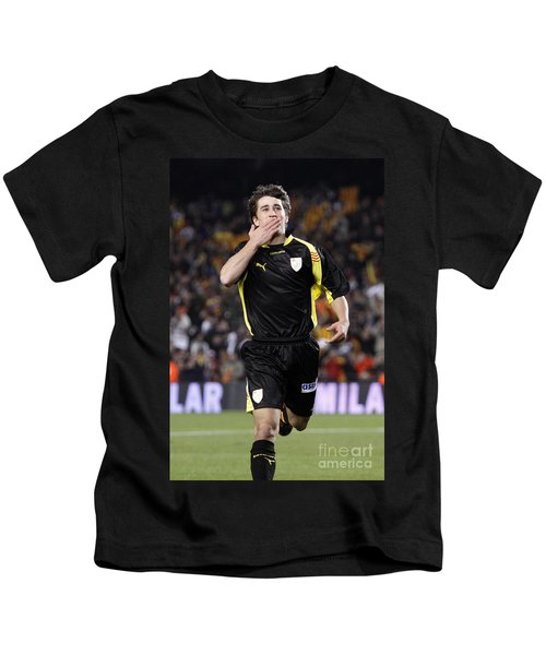 Bojan Krkic Celebrating A Goal 2 Kids T-Shirt