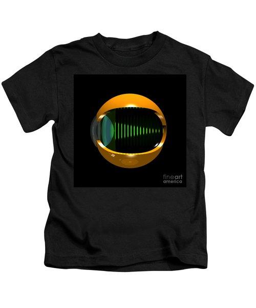 Brass Eye Infinity Kids T-Shirt
