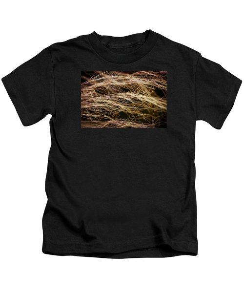 Bronzed Grasses. Kids T-Shirt