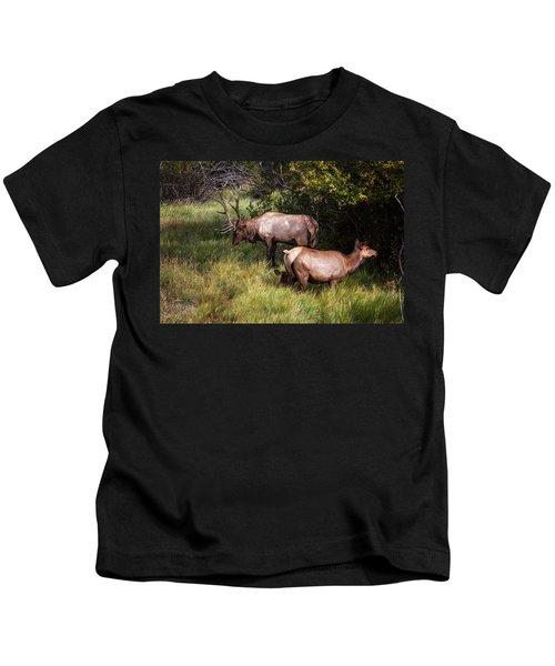 Bull Elk 7x7 Kids T-Shirt