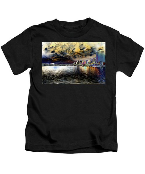 City Of Color Kids T-Shirt by Douglas Barnard