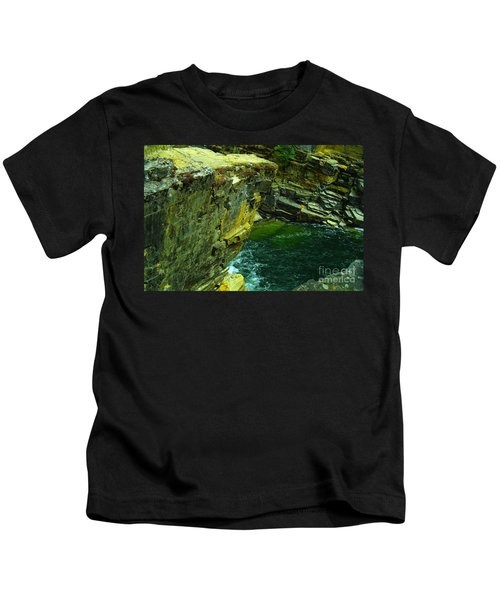 Colored Rocks  Kids T-Shirt by Jeff Swan