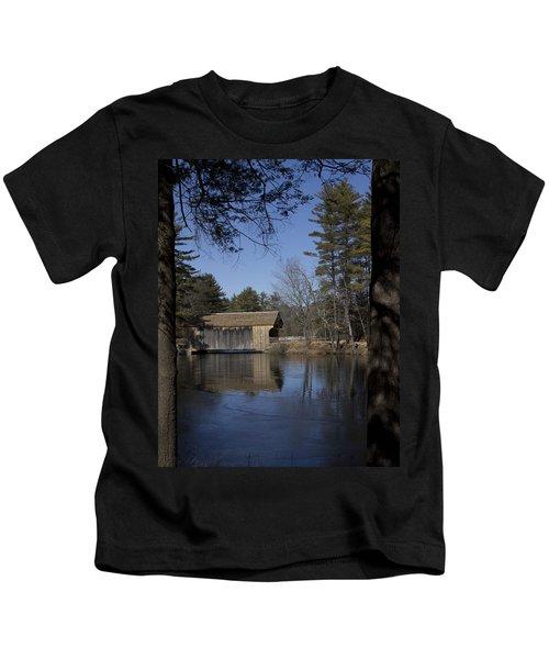 Cool Winter Morning Kids T-Shirt