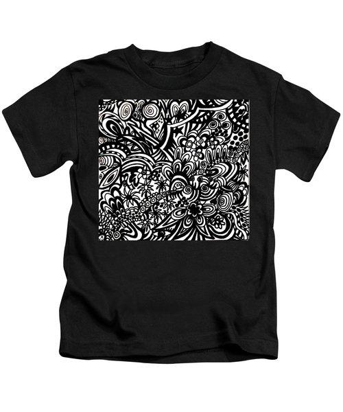 Crazy World We Live In Kids T-Shirt