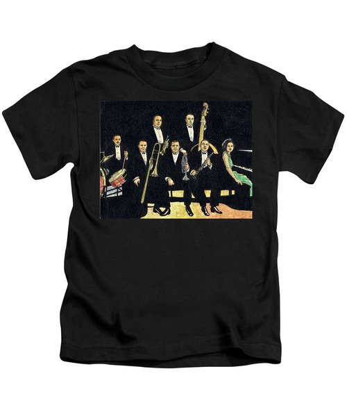 Creole Jazz Band Kids T-Shirt