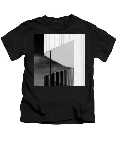 Curved Balcony Kids T-Shirt