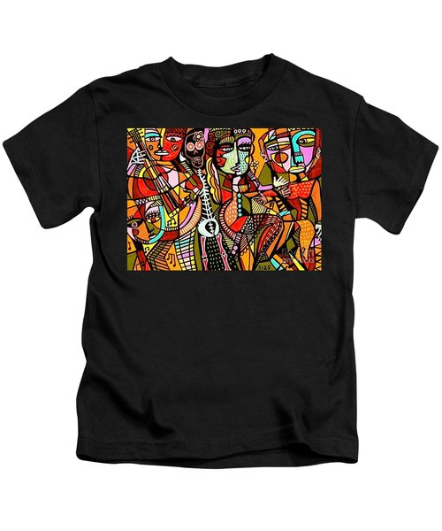 Day Of The Dead Lovers Tango Kids T-Shirt