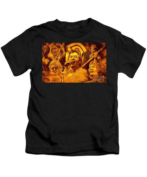 Deep Purple In Rock Kids T-Shirt