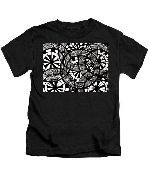 Doodle Circular  Kids T-Shirt