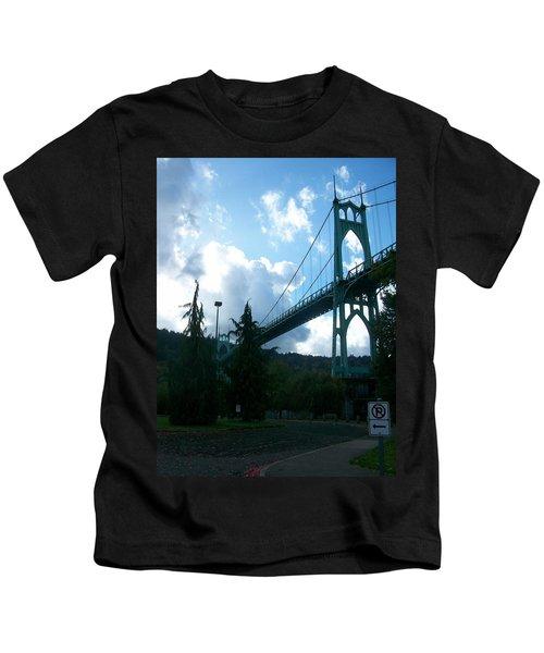 Dramatic St. Johns Kids T-Shirt