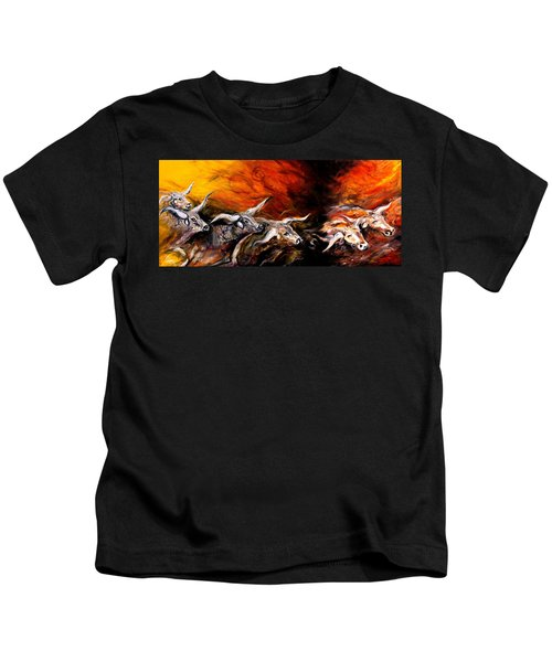 Dust Storm Kids T-Shirt