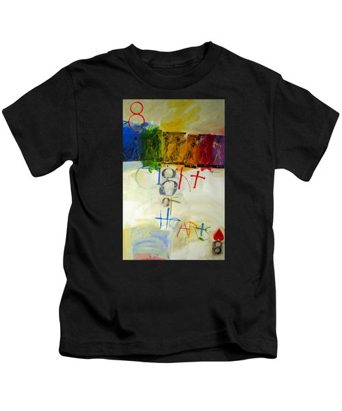Eight Of Hearts 34-52 Kids T-Shirt