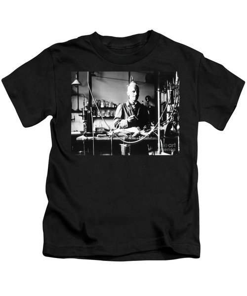 Ernest Henry Starling, English Kids T-Shirt by Science Source