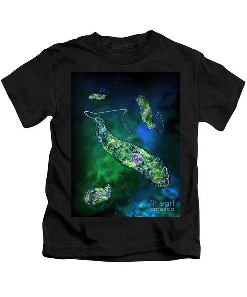 Euglena Blue Kids T-Shirt