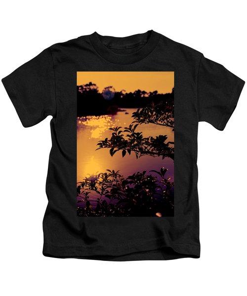 Florida Sunset Kids T-Shirt