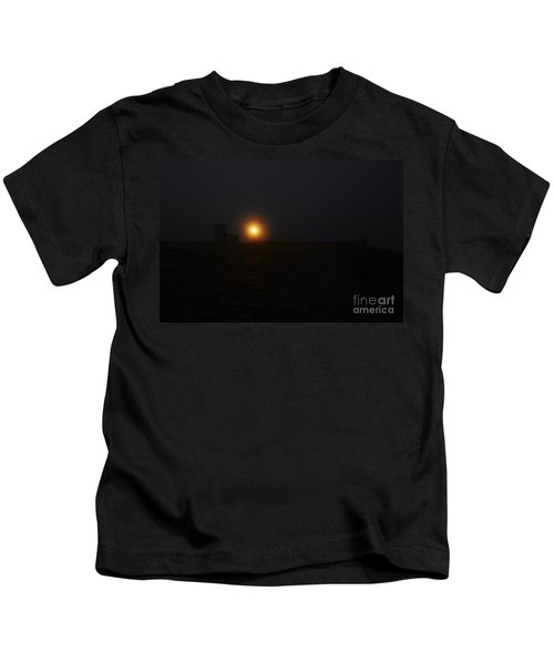 Fog In San Salvador Kids T-Shirt