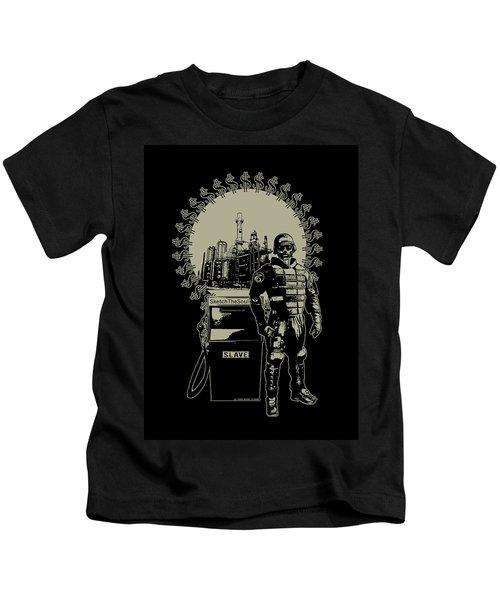 Gas Riot  Kids T-Shirt