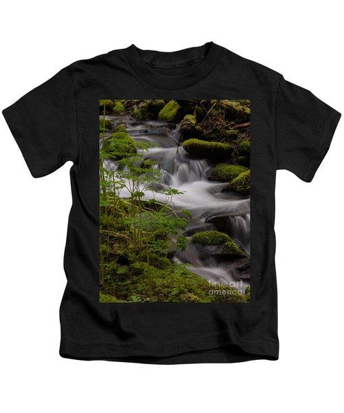 Gently Falling Kids T-Shirt