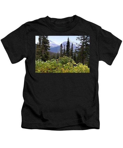 Glacier Scenery Kids T-Shirt