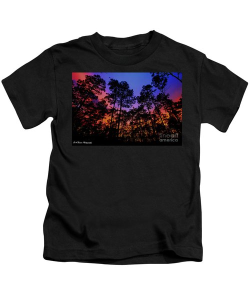 Glowing Forest Kids T-Shirt