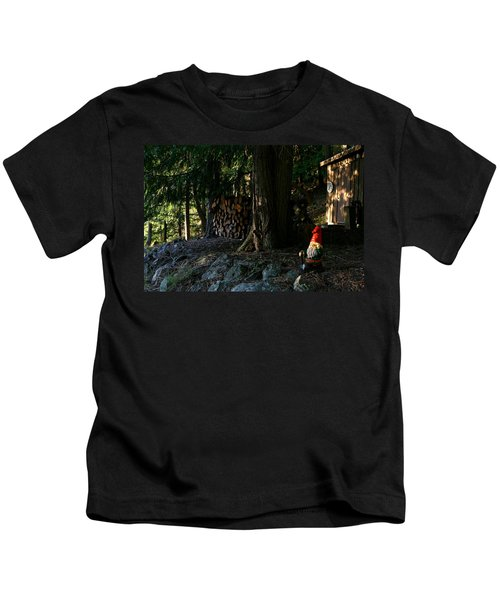 Gnome And The Woodpile Kids T-Shirt