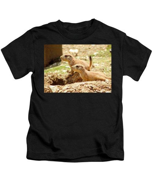 Go West Young Man Kids T-Shirt