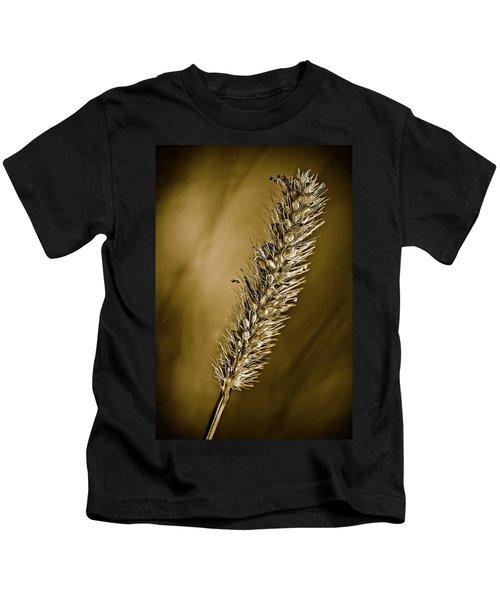 Grass Seedhead Kids T-Shirt