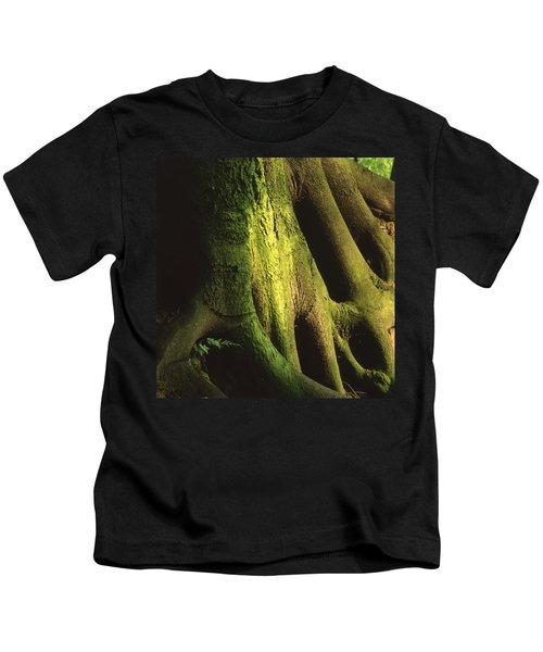 Green Trunk Kids T-Shirt
