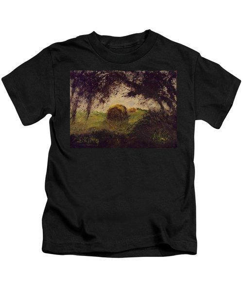 Hay Bale Kids T-Shirt