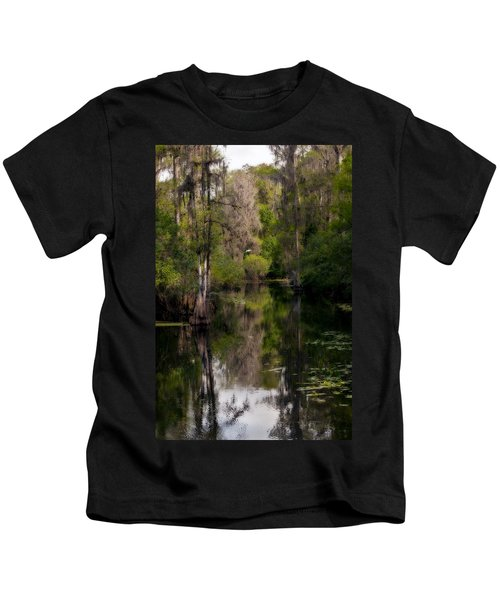 Hillsborough River In March Kids T-Shirt