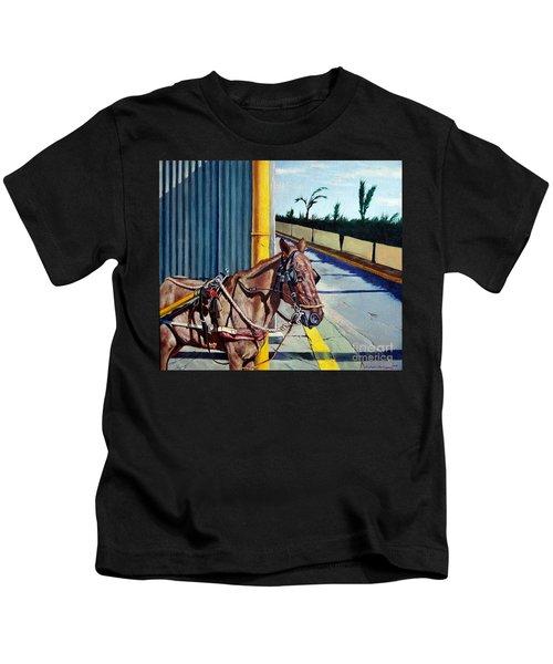Horse In Malate Kids T-Shirt