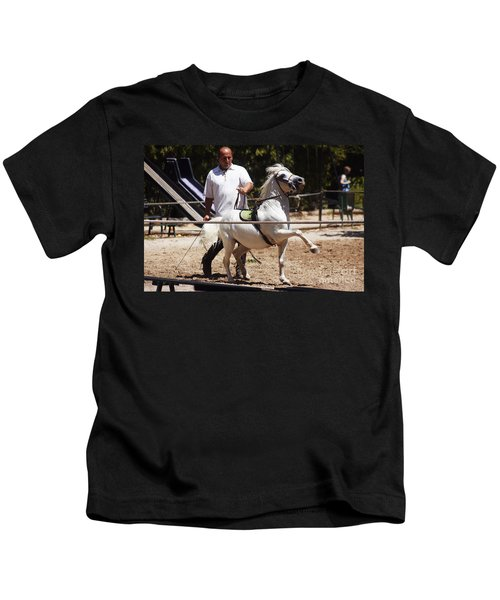 Horse Training Kids T-Shirt