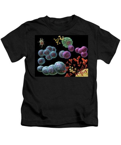 Immune Response Antibody 2 Kids T-Shirt