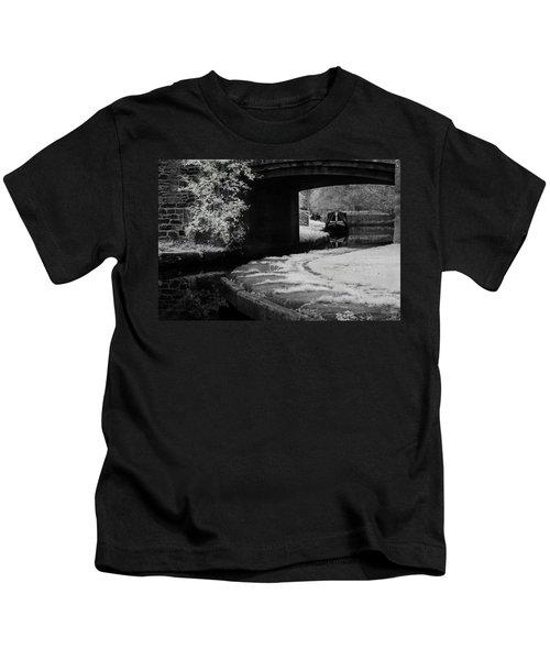 Infrared At Llangollen Canal Kids T-Shirt