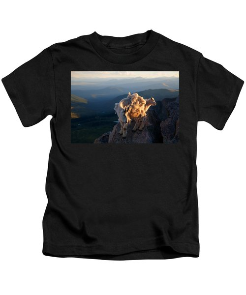 Two Faces West Kids T-Shirt