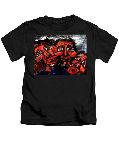 Is 3 Really A Crowd Kids T-Shirt