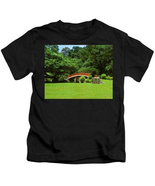 Japanese Garden Bridge 21m Kids T-Shirt