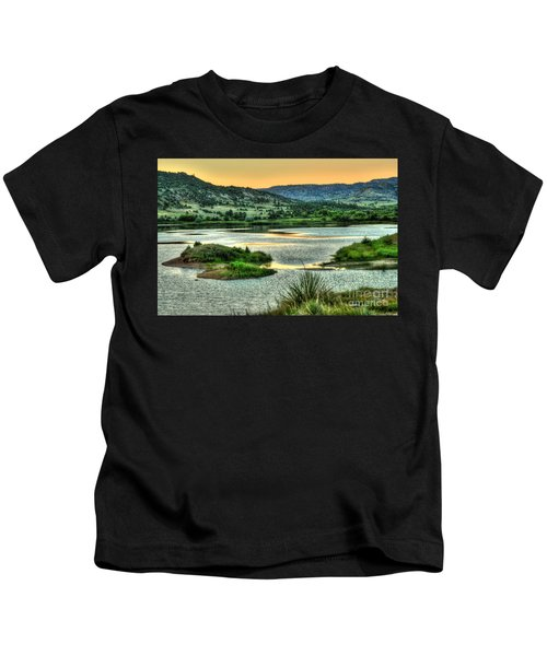 Lakeside View Kids T-Shirt