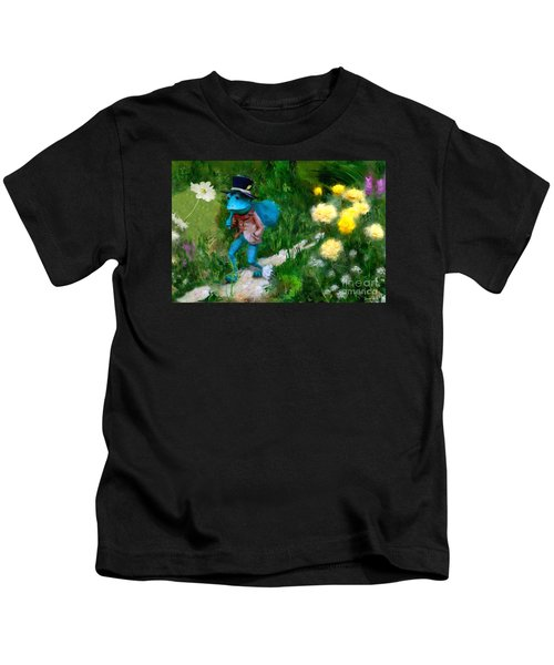 Lessons In Lifes Garden Kids T-Shirt