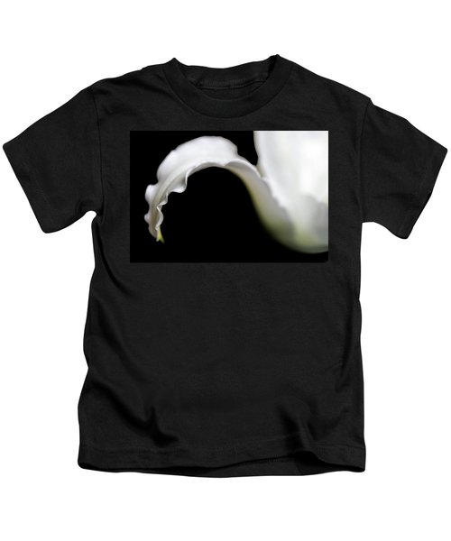 Lily Petal From A Side View Kids T-Shirt