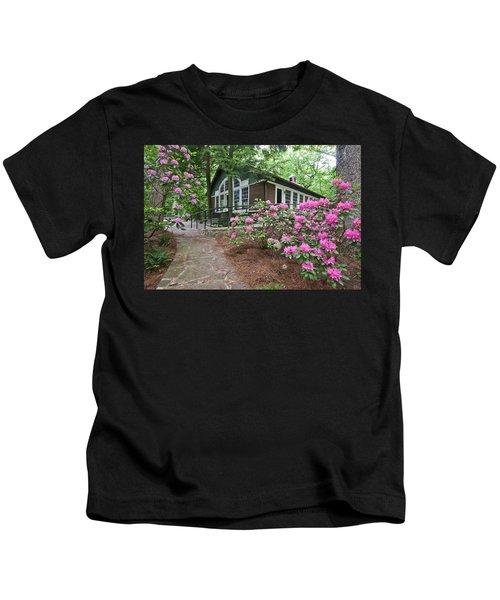 Little Brown Church In Spring Kids T-Shirt