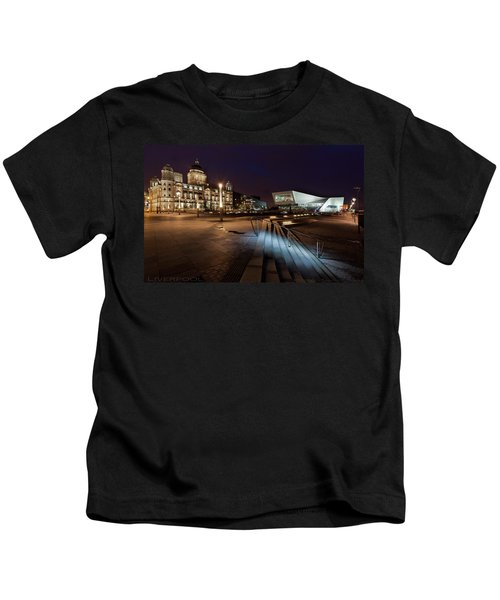 Liverpool - The Old And The New  Kids T-Shirt