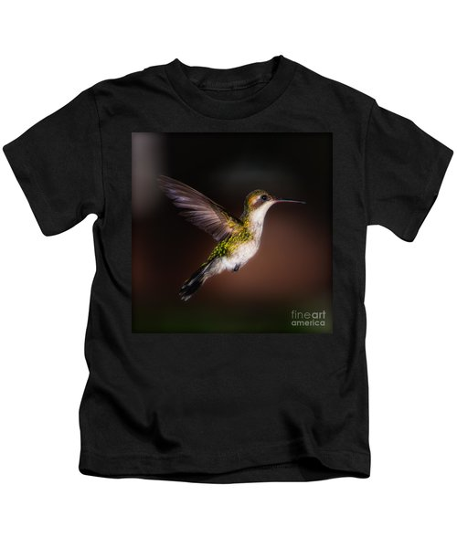 Lone Hummingbird Kids T-Shirt