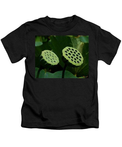 Lotus Capsules-sun Worshipers Dl052 Kids T-Shirt
