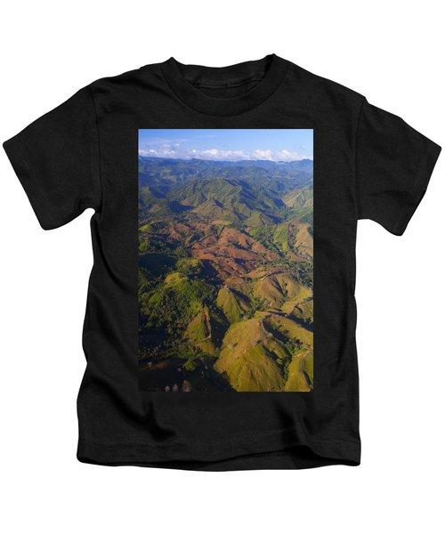 Lowland Tropical Rainforest Cleared Kids T-Shirt