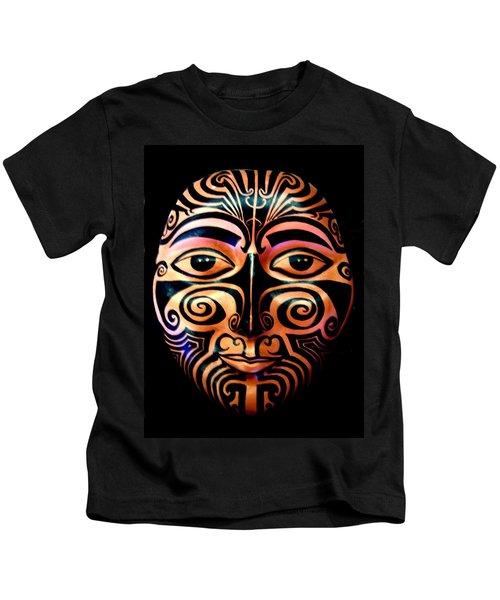 Maori Mask Kids T-Shirt