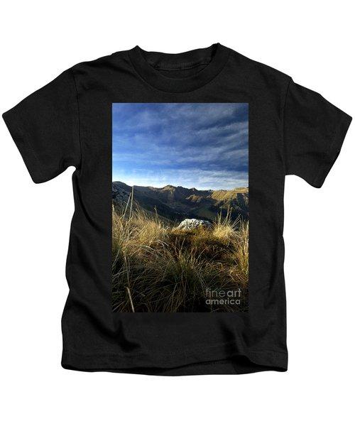 Massif Of Sancy In Auvergne. France Kids T-Shirt