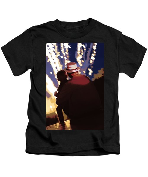 Me And Papa - 4th Of July Kids T-Shirt